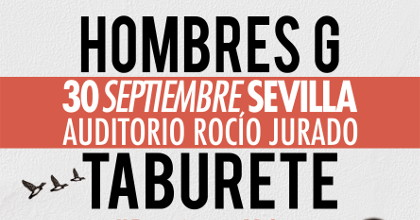 Taburete Sevilla.Hobres G Taburete Auditorio Rocio Jurado Sevilla