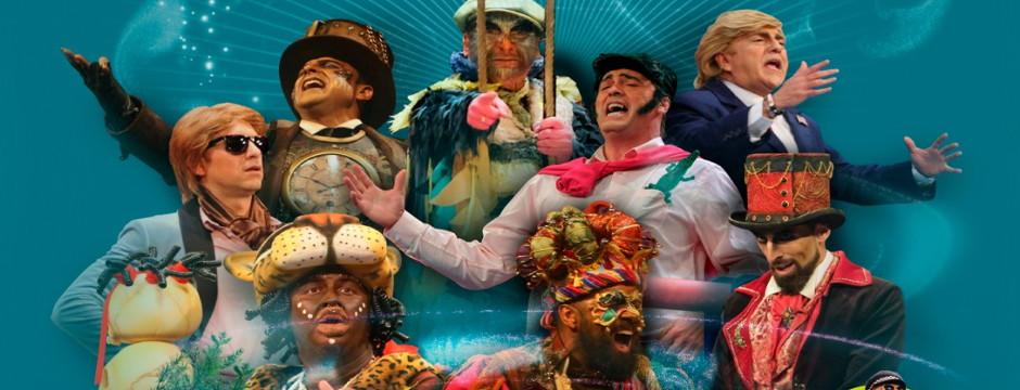 Los más Grandes del Carnaval 2018. Viernes 11 de Mayo de 2018. Auditorio Rocío Jurado.