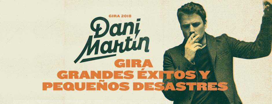 Dani Martín en Concierto. Viernes 8 de Junio de 2018. Auditorio Rocío Jurado.